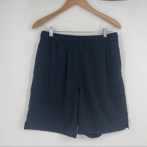 Speedo | Size M. Black Lined Athletic Shorts